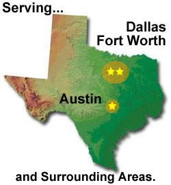 Serving Dallas, Fort Worth, and Austin
